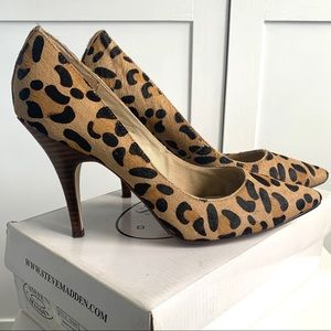 Steve Madden Carmila Leopard Print Pumps